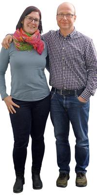 Janine & Christoph Hilfiker aus Othmarsingen nach dem Abnehmen mit ParaMediForm