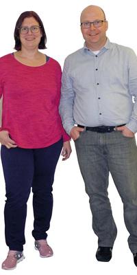 Janine & Christoph Hilfiker aus Othmarsingen vor dem Abnehmen mit ParaMediForm