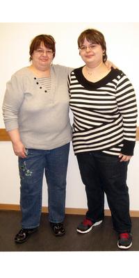 Ursula & Angela Schaad aus Rheinfelden vor dem Abnehmen mit ParaMediForm