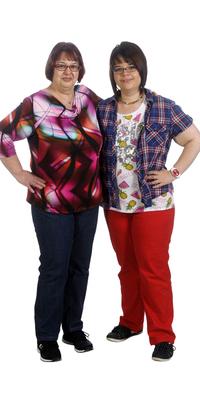 Ursula & Angela Schaad aus Rheinfelden nach dem Abnehmen mit ParaMediForm