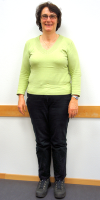Heidi Schneider aus Magden vor dem Abnehmen mit ParaMediForm