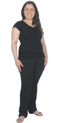 Valentina De Vita aus Möhlin nach dem Abnehmen mit ParaMediForm