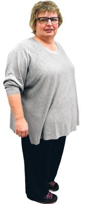 Esther Staudenmaier aus Möhlin vor dem Abnehmen mit ParaMediForm