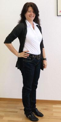 Monika Hunn de Waltenschwil après avoir perdu du poids avec ParaMediForm