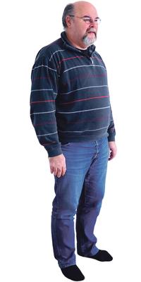 Carl-Christian Thomsen de Dottikon avant de perdre du poids avec ParaMediForm