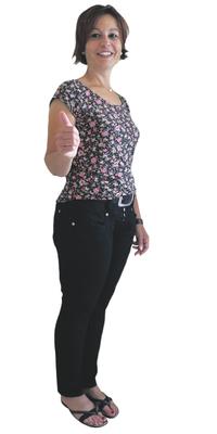 Caterina Affolter-Cristofaro, Institutsleiterin aus Wohlen nach dem Abnehmen mit ParaMediForm