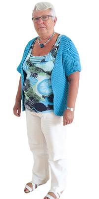 Rita Leuthard aus Mägenwil vor dem Abnehmen mit ParaMediForm