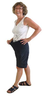 Susi Engel de Eggenwil après avoir perdu du poids avec ParaMediForm