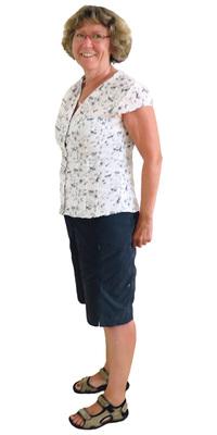 Susi Engel de Eggenwil avant de perdre du poids avec ParaMediForm