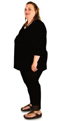 Beatrice Badertscher de Zofingen avant de perdre du poids avec ParaMediForm