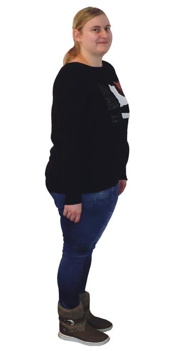 Lara Kurt de Trimbach avant de perdre du poids avec ParaMediForm