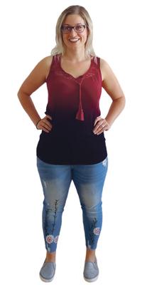 Janine Wittwer de Vordemwald après avoir perdu du poids avec ParaMediForm