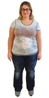 Janine Wittwer de Vordemwald avant de perdre du poids avec ParaMediForm