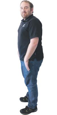 Guido Derungs aus Anwil vor dem Abnehmen mit ParaMediForm