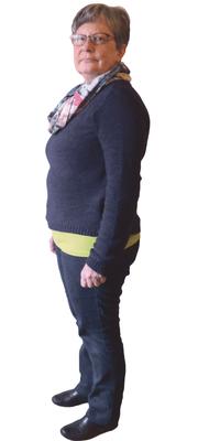 Susanne Kamber aus Sissach vor dem Abnehmen mit ParaMediForm