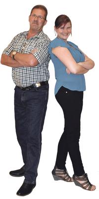 Jürg Stotzer und Mariana Stotzer de Büren a. Aare après avoir perdu du poids avec ParaMediForm