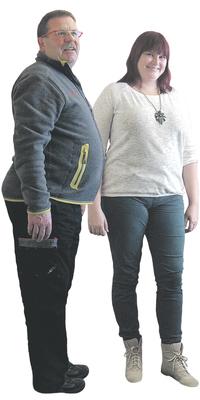 Jürg Stotzer und Mariana Stotzer de Büren a. Aare avant de perdre du poids avec ParaMediForm