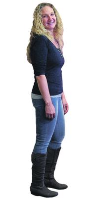 Diana Oeggerli de Bettlach après avoir perdu du poids avec ParaMediForm