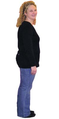 Diana Oeggerli de Bettlach avant de perdre du poids avec ParaMediForm