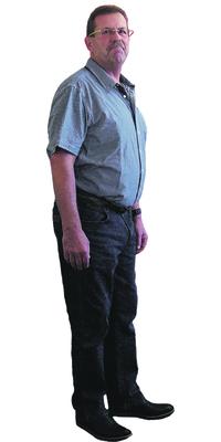 Jürg Stotzer de Büren a. Aare après avoir perdu du poids avec ParaMediForm