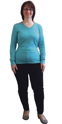 Bettina Saez-Schori aus Diessbach b. Büren nach dem Abnehmen mit ParaMediForm