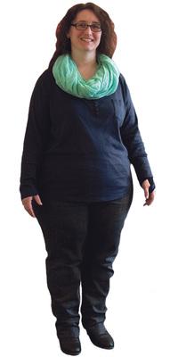Bettina Saez-Schori aus Diessbach b. Büren vor dem Abnehmen mit ParaMediForm