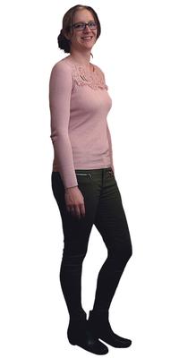 Tamara Beyeler de Diessbach b. Büren après avoir perdu du poids avec ParaMediForm
