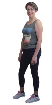 Paula Duarte de Lengnau après avoir perdu du poids avec ParaMediForm