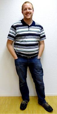 Thomas Hofer aus Lotzwil vor dem Abnehmen mit ParaMediForm