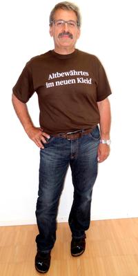 Peter Aeschbach aus Herzogenbuchsee nach dem Abnehmen mit ParaMediForm