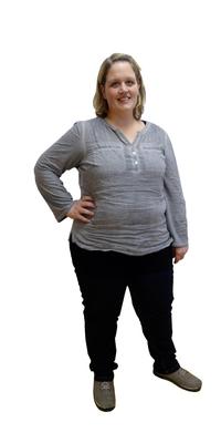 Jessica Meyer aus  vor dem Abnehmen mit ParaMediForm