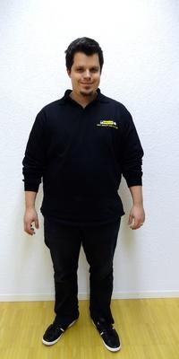 Lukas Tanner aus Herzogenbuchsee vor dem Abnehmen mit ParaMediForm