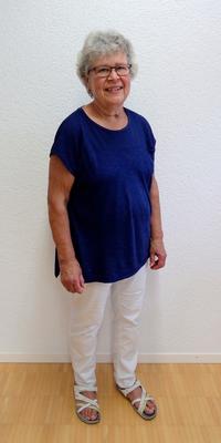 Marianne Schütz aus Huttwil nach dem Abnehmen mit ParaMediForm