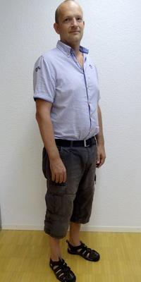 Daniel Gander aus Luthern nach dem Abnehmen mit ParaMediForm