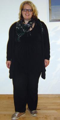 Claudia Stucki aus Heimberg vor dem Abnehmen mit ParaMediForm
