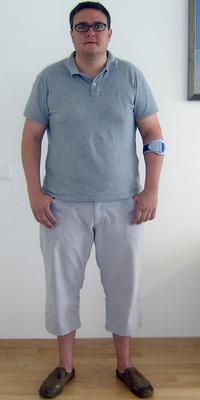 Joachim Müller aus Thun vor dem Abnehmen mit ParaMediForm
