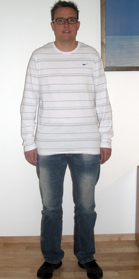 Joachim Müller aus Thun nach dem Abnehmen mit ParaMediForm