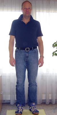Thomas Sorgen aus Thun nach dem Abnehmen mit ParaMediForm