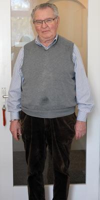Manfred Kurz aus Thun vor dem Abnehmen mit ParaMediForm