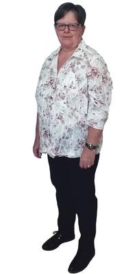 Dora Kaspar aus Spiez nach dem Abnehmen mit ParaMediForm
