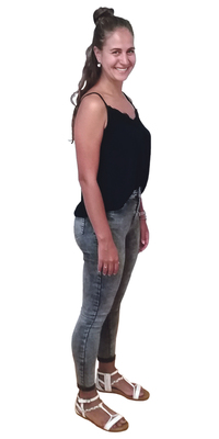 Kim Rohrbach aus Seftigen nach dem Abnehmen mit ParaMediForm