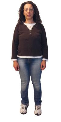 Ninfa Scicolone aus St. Margrethen vor dem Abnehmen mit ParaMediForm