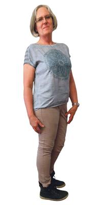 Margot Heini aus Herisau nach dem Abnehmen mit ParaMediForm
