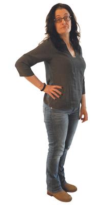 Marcella De Tata aus Engelburg vor dem Abnehmen mit ParaMediForm