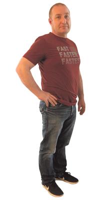Giovanni De Tata aus Engelburg vor dem Abnehmen mit ParaMediForm