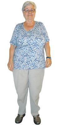 Lisbeth Wolfensberger aus Jona vor dem Abnehmen mit ParaMediForm