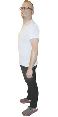 Harry Kälin de Tuggen après avoir perdu du poids avec ParaMediForm