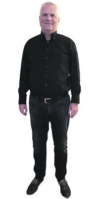 Franz Geiger de Jona avant de perdre du poids avec ParaMediForm