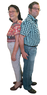 Sonja & Fritz Studler de Schwanden après avoir perdu du poids avec ParaMediForm
