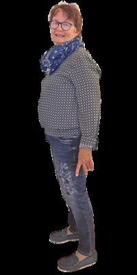 Barbara Züger aus Buttikon vor dem Abnehmen mit ParaMediForm